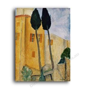 Modigliani | Cypress Trees
