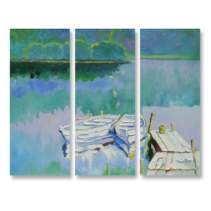 Crystal Lake - 3panels