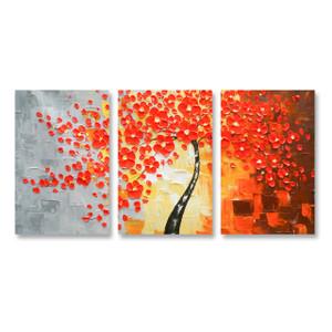 Knife Painting SAH052 - 3panels