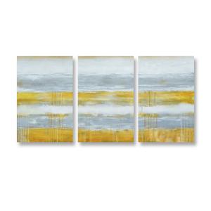 Yellow Lines - 3panels