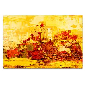 Aged Brushstrokes Art Print
