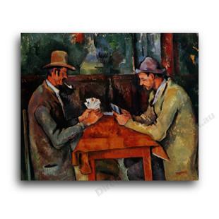 Paul Cezanne   The Card Players 2