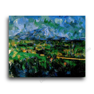 Paul Cezanne   Mont Sainte-Victoire Seen from Les Lauves