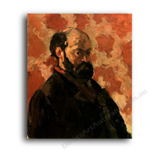Paul Cezanne   Self-Portrait with Rose Background
