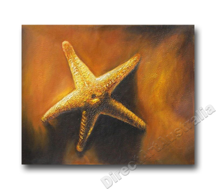 Offshore Star   Beach Art   Print Alternative Oil Painting