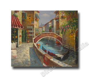 One Early Morning   Hand Painted Oil on Canvas No Prints
