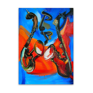 Rhythm and Blues | Music Genuine Art Work Wall Hanging in Melbourne