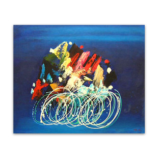 Speed | Abstract Art Canvas Painting & Interior Wall Art Decor