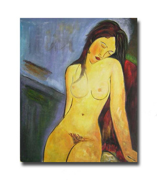 Unclad   Nude Oil Paintings & Hand Painted Canvas for Sale