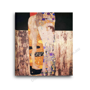 Klimt   The Three Ages of Woman