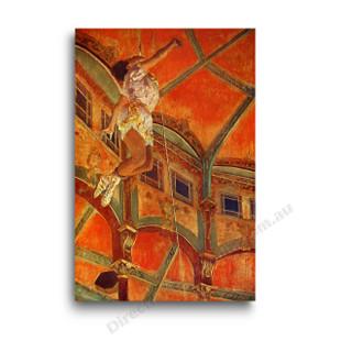 Degas   Miss Lala at the Cirque Fernando