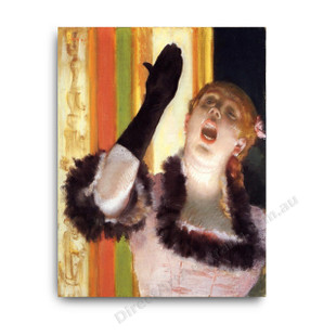 Degas   Singer with a Glove
