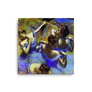 Degas   The Blue Dancers