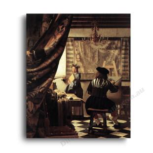 Jan Vermeer   The Art of Painting