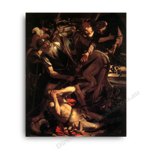 Caravaggio   The Conversation of Saint Paul