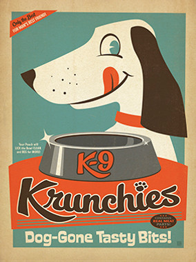 K9 Crunchies Vintage Dog Food