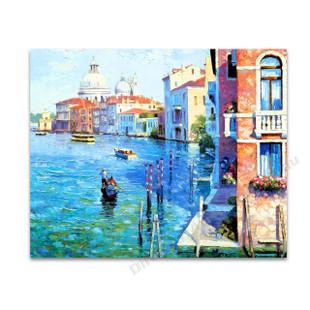 Venice Knife Painting