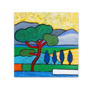 Angela Sharkey  │ Roman Pine in Spring
