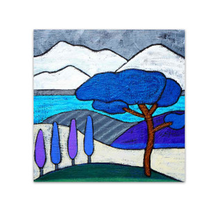 Angela Sharkey  │ Roman Pine in Winter