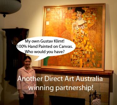Klimt Artwork Paintings The Kiss Canvas