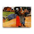 Two Breton Women on the Road