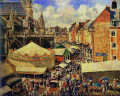 The Fair at Dieppe, Sunny Morning