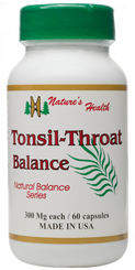 Tonsil-Throat Balance
