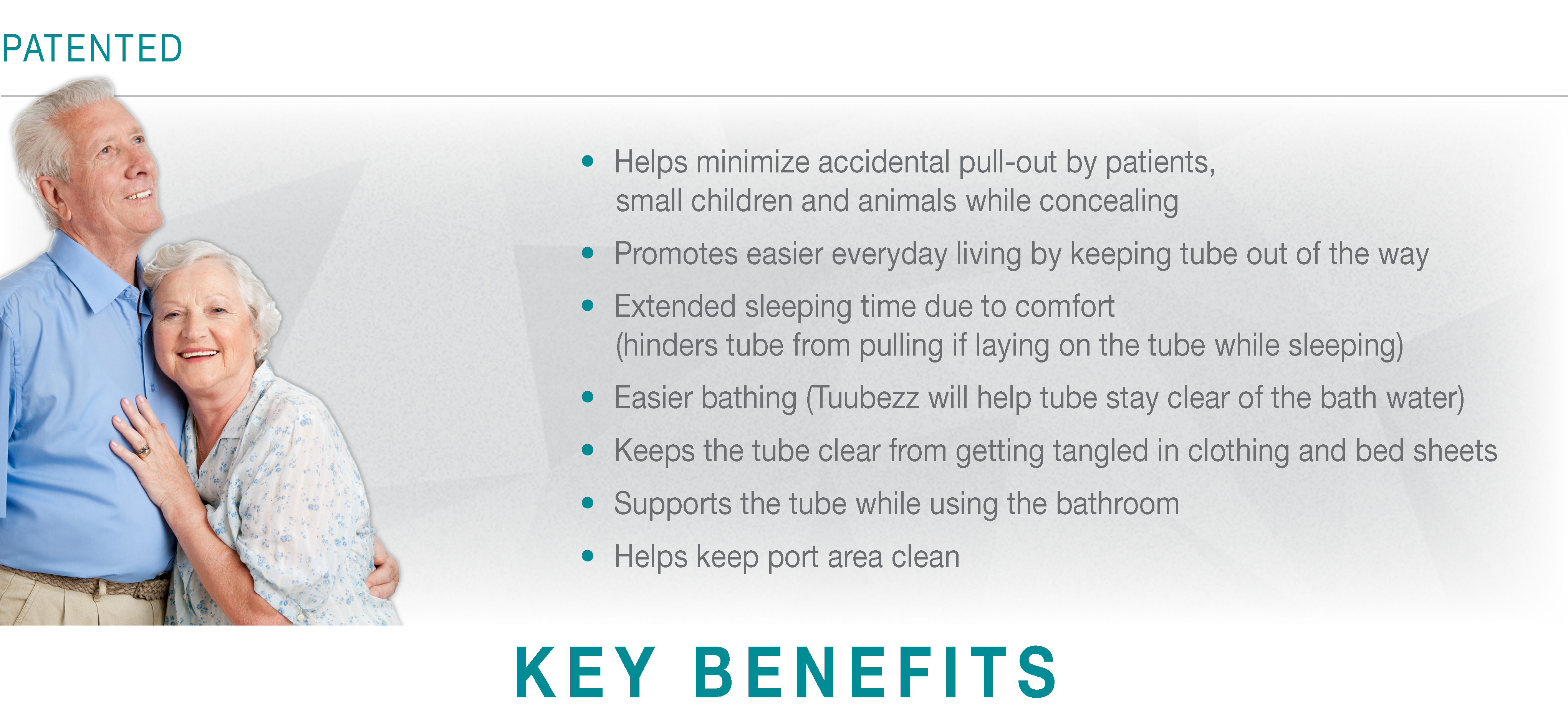 Tuubezz G-Tube Storage Belt Key Benefits