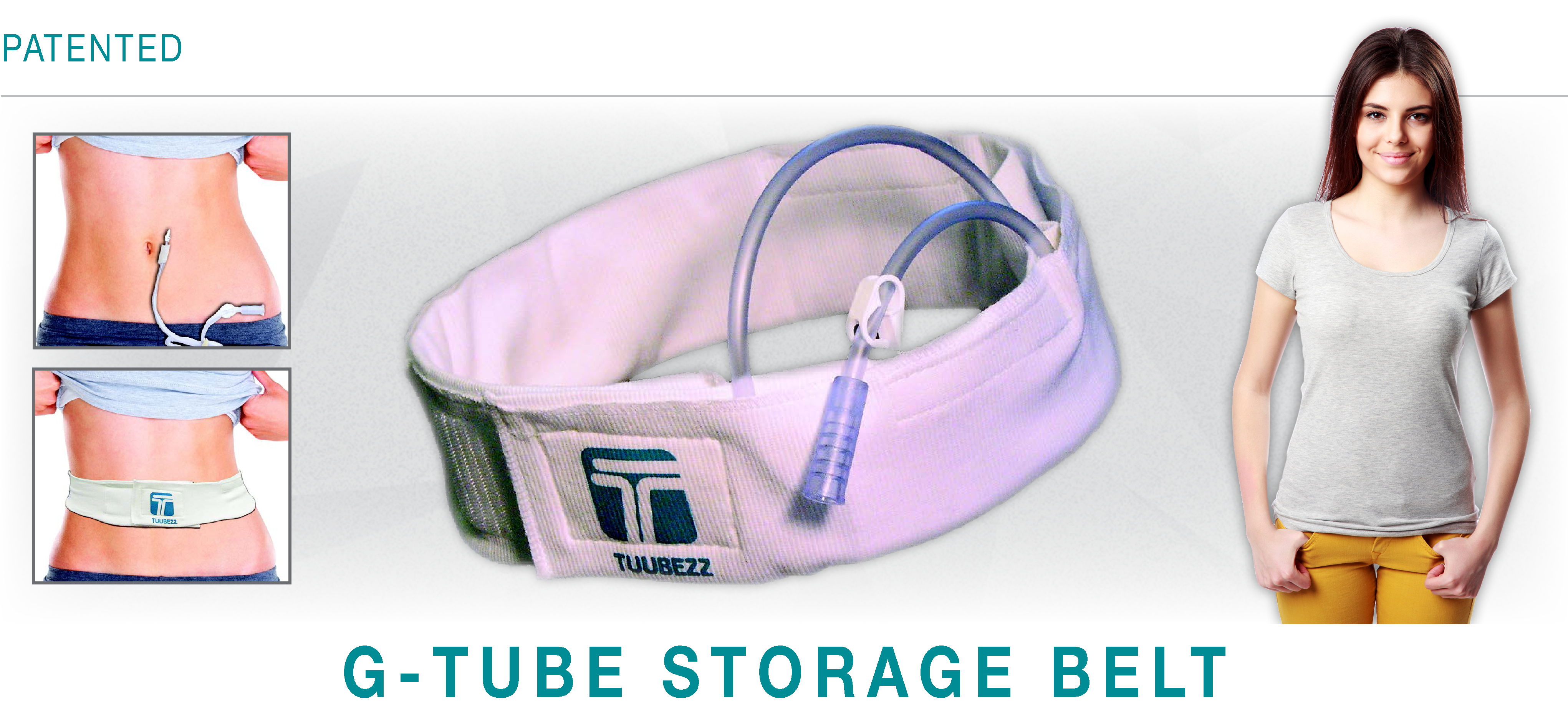 Tuubezz G-Tube Storage Belt