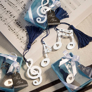 100 Music Note Bookmark Wedding Favors