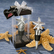 72 Beach Theme Starfish Bottle Stopper Wedding Favors