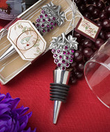 72 Vineyard Collection Wine Bottle Stopper Wedding Favors