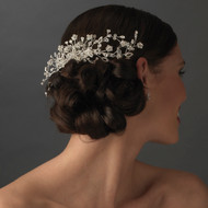 Dazzling Crystal Vine Bridal Hair Comb