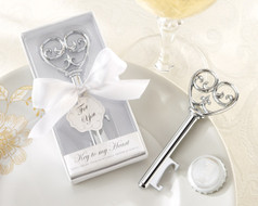 96 Key To My Heart Bottle Opener Wedding Favors