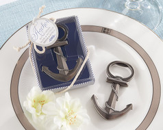 96 Anchor Bottle Opener Wedding Favors with Nautical Theme