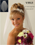 Angel Dust Elbow Length JL Johnson Bridals Veil V5513