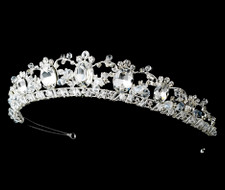 Couture Rhinestone Galore Bridal Tiara