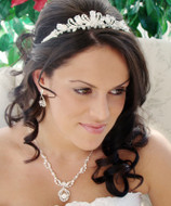 Crystal Couture Wedding Tiara and Jewelry Set