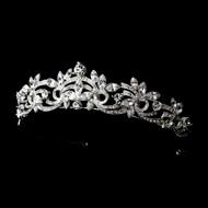 Dazzling Marquise Rhinestone Bridal Tiara