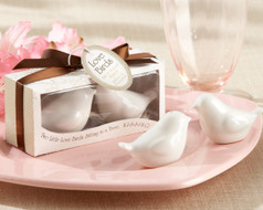96 Lovebirds in the Window Salt and Pepper Wedding Favors