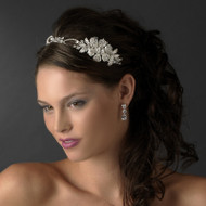 Dazzling Rhinestone Side Accent Bridal Headband