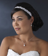 Double Satin Ribbon Bridal Headband