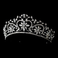 Ornate Rhinestone Wedding Tiara hp9828