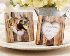 96 Rustic Romance Heart Frames Wedding Place Card Holders