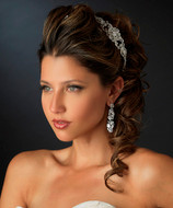 Intricately Designed Side Accent Wedding Headband