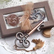100 Vintage Look Skeleton Key Bottle Opener Wedding Favors