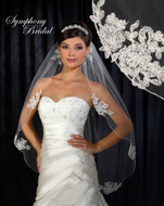 Symphony bridal lace wedding veil 6310VL