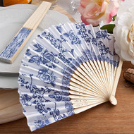 150 Elegant Cobalt Blue French Country Design Fan Favors