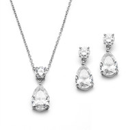 5 Sets Simply Elegant CZ Bridesmaid Jewelry