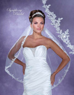 Lace Edge Symphony Bridal 6129VL Wedding Veil
